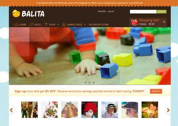 balita wordpress theme 15 Free 2012 Kickstart WordPress Themes