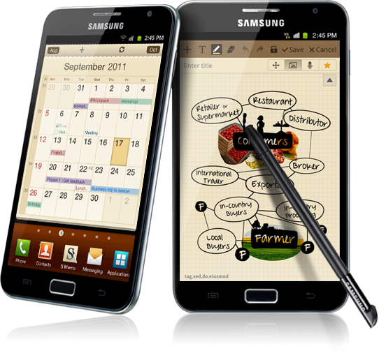 samsung galaxy note 2 Million Galaxy Notes Shipped Since Launch